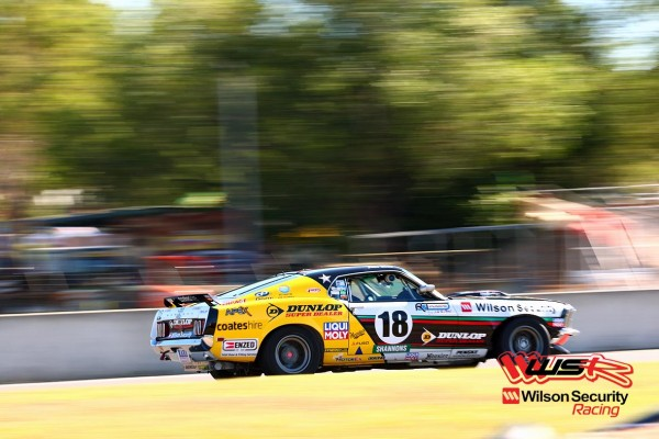 John Bowe's DUNLOP SUPER DEALER SPONSORED Touring Car Masters Mustang